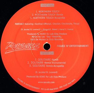Northern Touch 1998 single by Kardinal Offishall, Choclair, Rascalz, Checkmate, Thrust