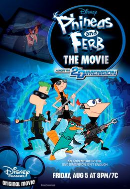 Picture of a movie: Phineas And Ferb