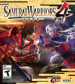 hack and slash game by Tecmo Koei, and sequel to Samurai Warriors 3, and anime series adaptation