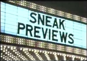 <i>Sneak Previews</i> American film review television series