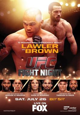 UFC on FOX: Lawler vs. Brown UFC_on_FOX_12_event_poster