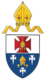 Coat of arms of the United Diocese of Cork, Cloyne, and Ross