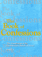 book containing the creeds and confessions of the Presbyterian Church (U.S.A.)