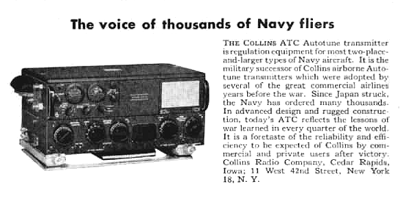 Collins ART-13 Transmitter from second world war