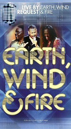 Earth, Wind & Fire: Live By Request artwork
