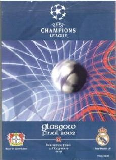 2002 UEFA Champions League Final association football match
