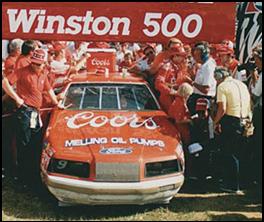 1985 Winston 500 Auto race run in Alabama in 1985