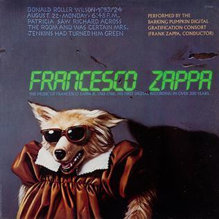 Francesco Zappa Album Wikipedia