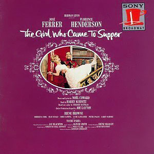<i>The Girl Who Came to Supper</i> 1963 musical