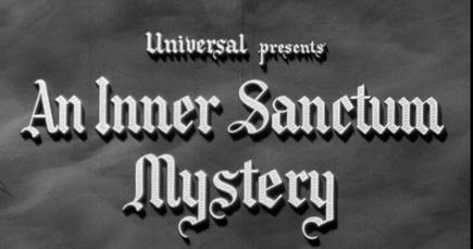 Inner Sanctum Mystery Film