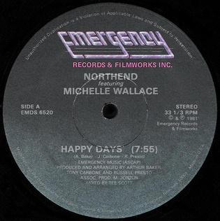 Happy Days (North End song) 2021 single by North End