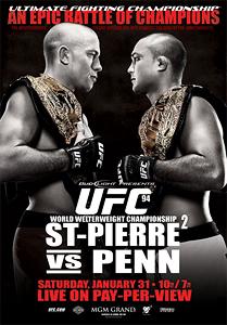 UFC 94 UFC mixed martial arts event in 2009