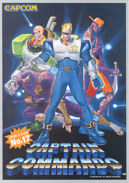 Picture of a game: Captain Commando