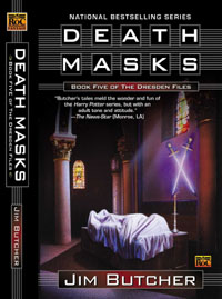 <i>Death Masks</i> book by Jim Butcher