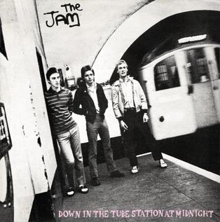 Down in the Tube Station at Midnight 1978 single by The Jam