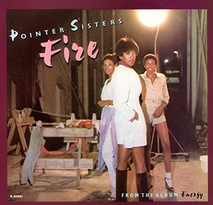The Pointer Sisters - Fire (Single)