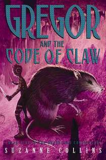 Gregor and the Code of Claw first edition cover art.jpg