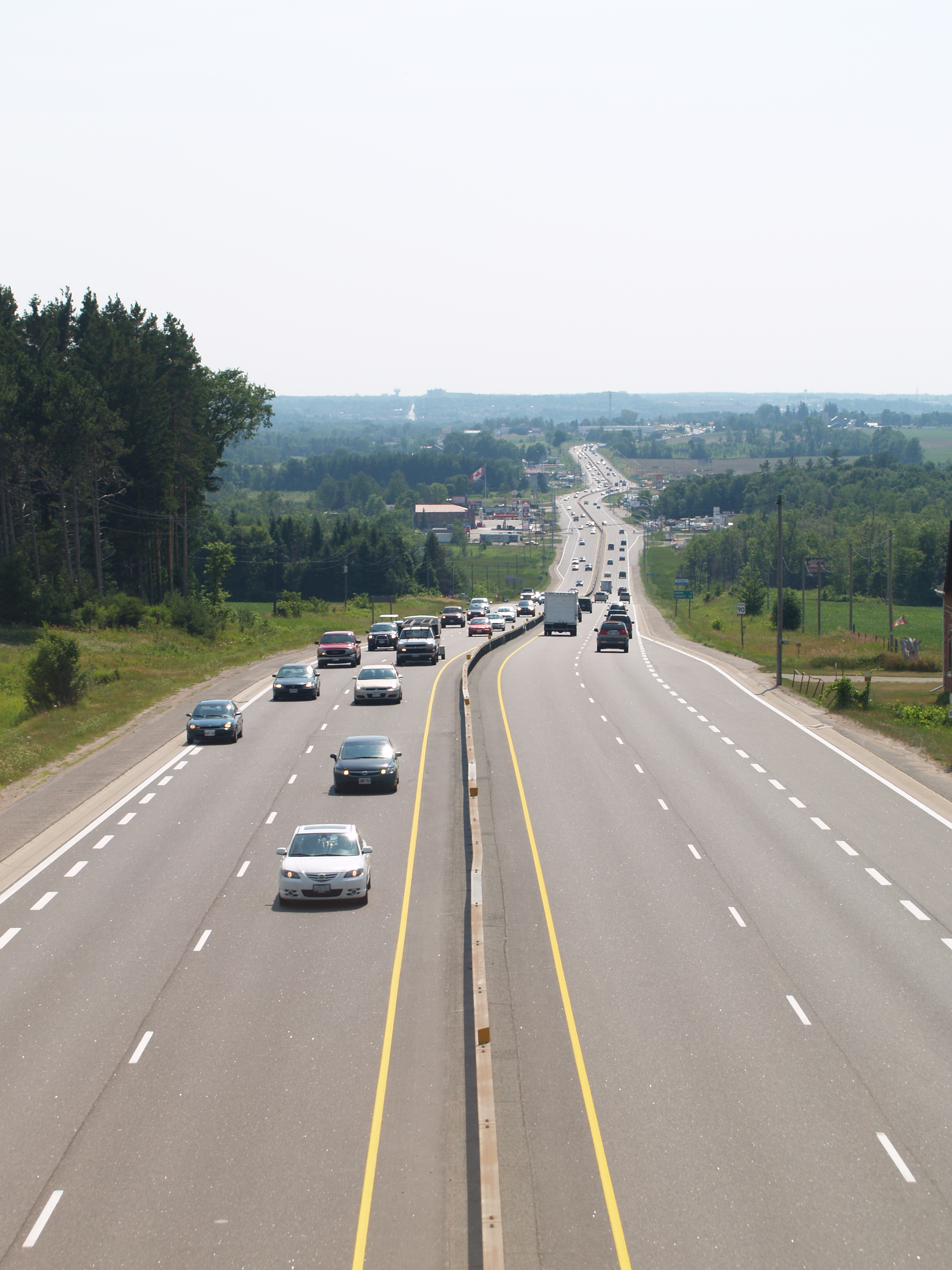 As A Result Of Provincial Downloading Highways To Municipalities In 1997 And 1998 Highway 11 Now Begins At The Crown Hill Interchange With 400
