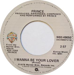 I Wanna Be Your Lover - Wikipedia
