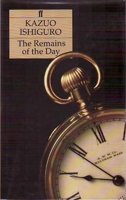 a report on the remains of the day a novel by kazuo ishiguro Emotions in kazuo ishiguro's the remains of the day nrema ma,bed  the  novels of ishiguro are set in the past reflecting the 20th century confronting nasty .