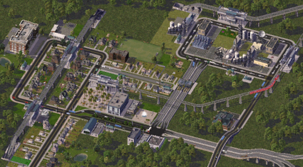 Simcity 4 rush hour скачать