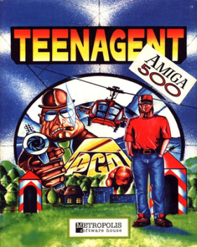 Picture of a game: Teen Agent