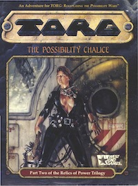 <i>The Possibility Chalice</i> Cross-genre tabletop role-playing game adventure