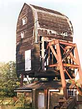 The mill under restoration