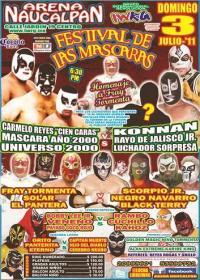 Festival de las Máscaras (2011) 2011 International Wrestling Revolution Group event