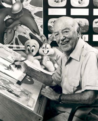 American animator, cartoonist, director, and producer