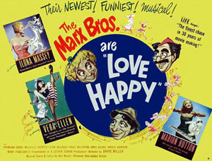 <i>Love Happy</i> 1949 Marx Brothers film by David Miller