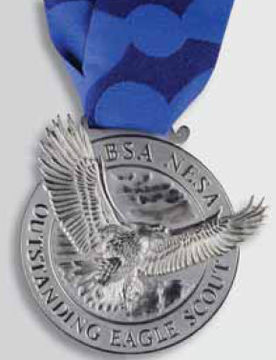 """Robert """"Bob"""" Justice Honored with Distinguished Eagle Scout Award ..."""