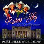 "<i>Riders in the Sky ""Lassoed Live"" at the Schermerhorn with the Nashville Symphony</i> 2009 live album by Riders in the Sky"