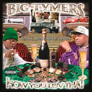 <i>How You Luv That Vol. 2</i> 1998 studio album by Big Tymers