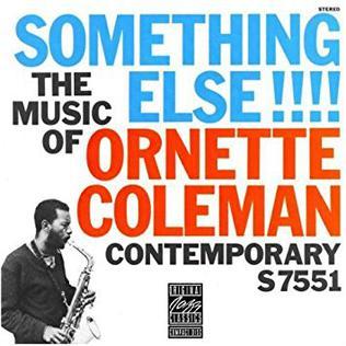 <i>Something Else!!!!</i> 1958 studio album by Ornette Coleman