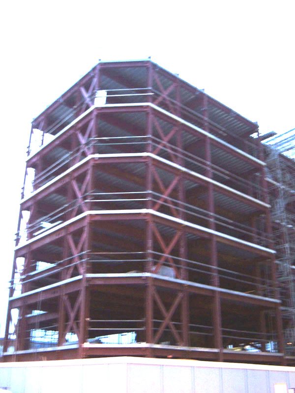 Masonry Building Framed : Steel frame wikipedia