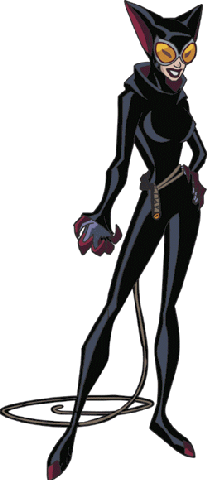 Catwoman, as seen in The Batman.
