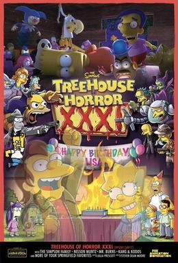 Treehouse Christmas 2021 Hours Treehouse Of Horror Xxxi Wikipedia