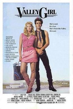 Valley Girl (1983) movie poster
