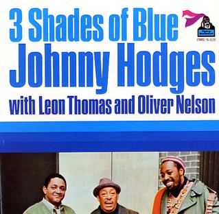 <i>3 Shades of Blue</i> album by Johnny Hodges