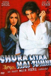 Chura Liyaa Hai Tumne (2003) DM DVD - Zayed Khan, Esha Deol, Gulshan Grover, Salil Ankola, Rakhi Sawant, Vijay Raaz, Parth Dave