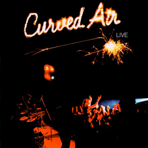 <i>Curved Air – Live</i> 1975 live album by Curved Air