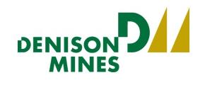 Denison Mines Aktie