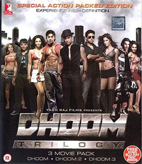 Dhoom All Parts Collection BluRay Hindi 300mb 480p 1GB 720p 4GB 15GB 1080p