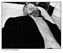 The body of Emmett Till