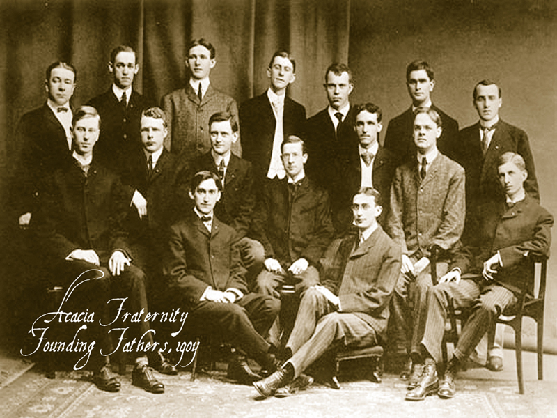 The Founding Members Of The Acacia Fraternity