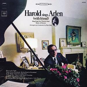 <i>Harold Sings Arlen</i> (With Friend) 1966 studio album by Harold Arlen