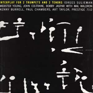 <i>Interplay for 2 Trumpets and 2 Tenors</i> album by John Coltrane