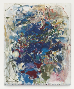 Untitled (1960) sold at auction for $11.9 million in 2014, a record for a female artist. Joan Mitchell - Untitled (1960).jpg