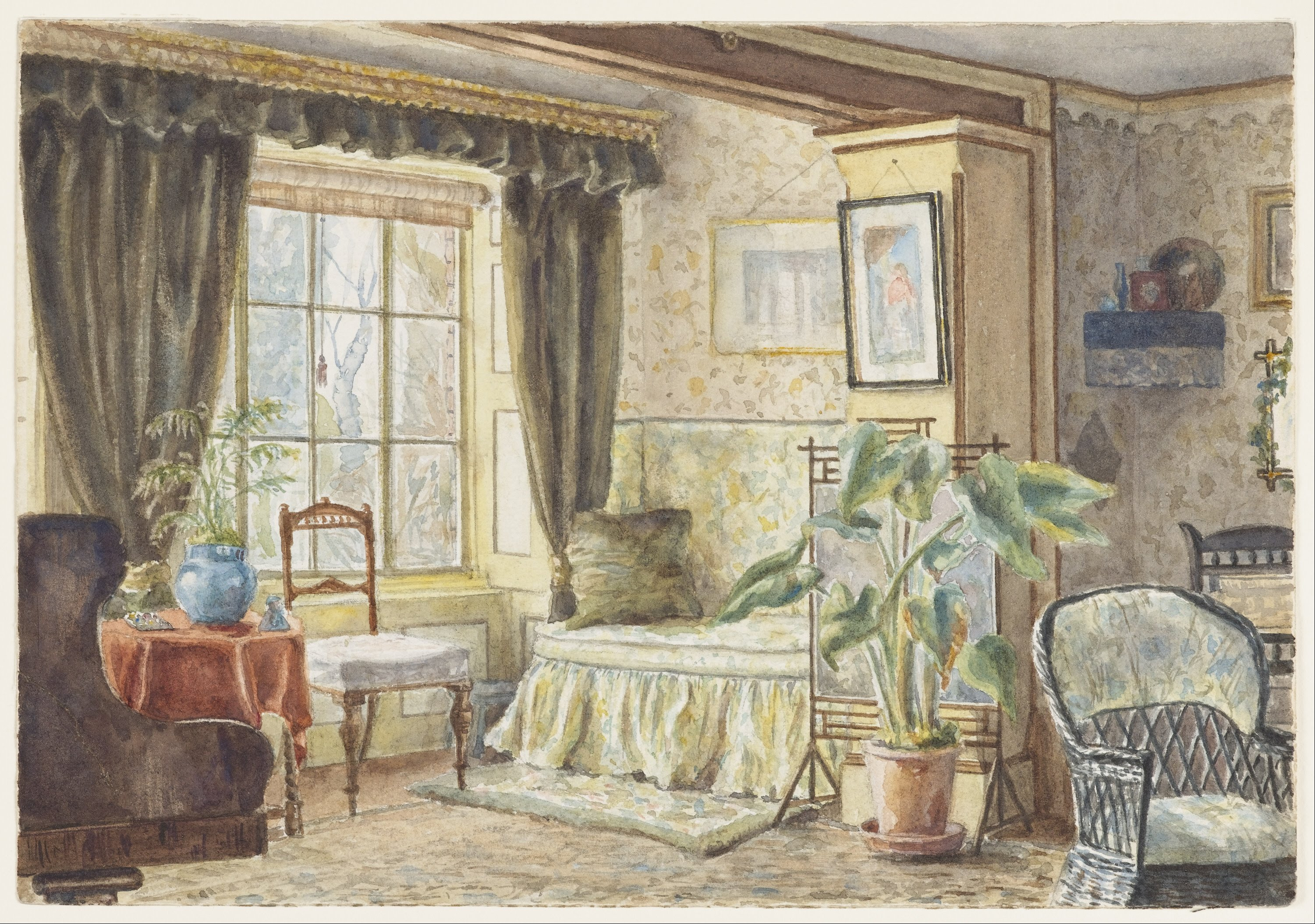 File m f pearce the drawing room informal sitting for Drawing room pictures